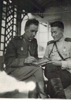 В-Мой прадед – Герой  Советского Союза