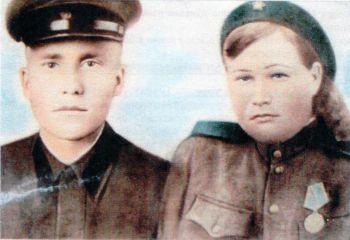 Г-Григорьевы Данил Григорьевич и Клавдия Федоровна