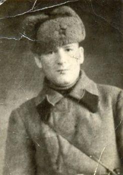 Т-Мой прадедушка Титов Михаил Васильевич - танкист